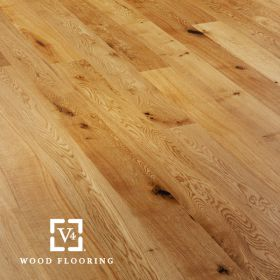 A103 Oak Rustic Brushed & Lacquered