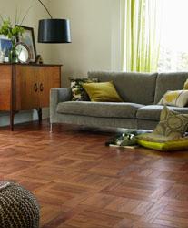 Welcoming living room with Karndean flooring