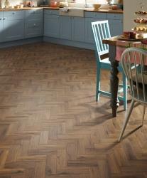 Karndean flooring in modern kitchen