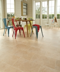 Large childs space with calming Karndean flooring